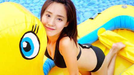 资讯:可爱又可爱 《夏洛特烦恼》王智泳装写真