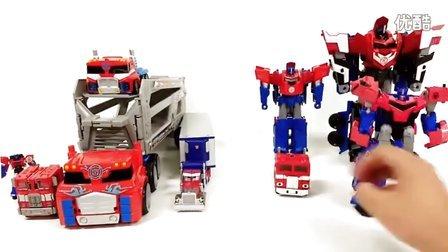 新一代的变形金刚的10辆卡车 柯博文2017 汽车人 机器人汽车 10种迷你特工队发射器 玩具车机