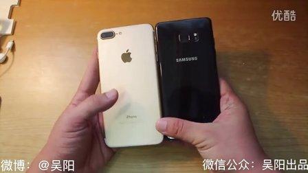 「吴阳出品」iPhone7 Plus对比三星NOTE7体验评测(内附防水终极测试)