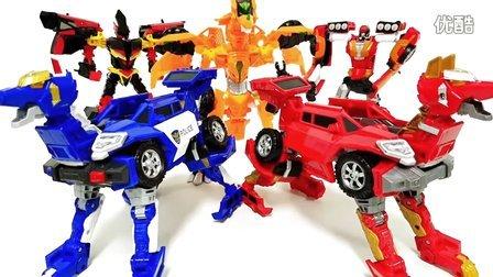 钢翼战龙 第二代爆裂飞车精彩对决比赛来啦 新魔力玩具学校
