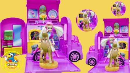 闪亮培乐多彩泥冰冻草莓自制;手工DIY闪粉美食玩具试玩!小猪佩奇超级飞侠 #欢乐迪士尼#