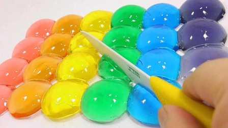 培乐多彩泥粘土 晶莹彩虹小果冻!小猪佩奇 扮家家 玩具试玩 粉红猪小妹 手工