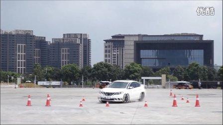 全新轩逸ABS转向测试