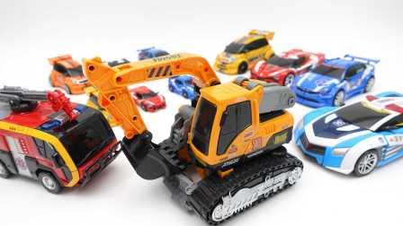 变形警车珀利系列玩具 474