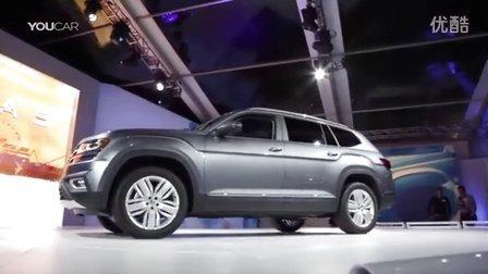 2018款大众Atlas 7座SUV预计明年上市