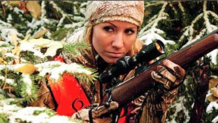 北欧女猎手体验驼鹿狩猎