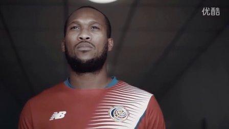 哥斯达黎加国家队2016-17赛季主场球衣