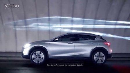 2016广州车展预热 全新的英菲尼迪 QX30精彩亮相