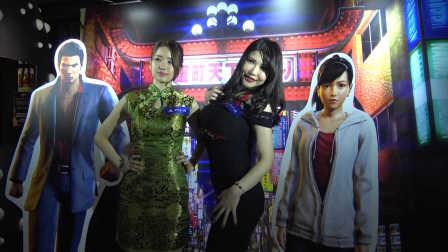 《如龙6》售前发布会 冲田杏梨性感出席