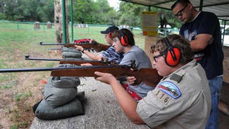 探访国际童子军射击训练营