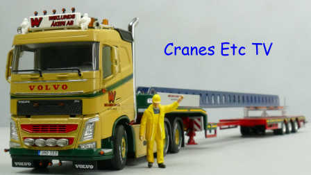 WSI Volvo FH4 Wiklunds Akeri by Cranes Etc TV