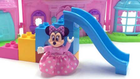 迪士尼欢乐世界小玩具屋;米老鼠和唐老鸭带来了好多玩具哟!熊出没 #车车王国#