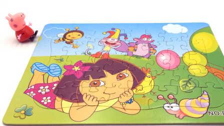 小猪佩奇发现粑粑 粉红猪小妹清理旧马桶