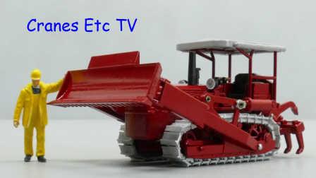Conrad MKW Büffel B90 Dozer by Cranes Etc TV