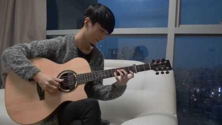 【指弹吉他】郑成河Sungha Jung爆好听演奏Jingle Bell