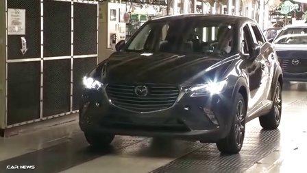 2017款马自达CX-3 生产过程曝光
