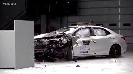 2017款丰田Corolla碰撞测试