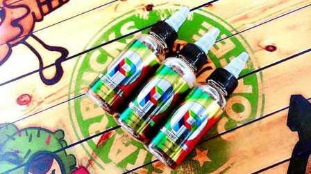 电子烟 外星人出品 大P 烟油评测 新口味 可乐冰瓜 烟液测评 蒸汽烟