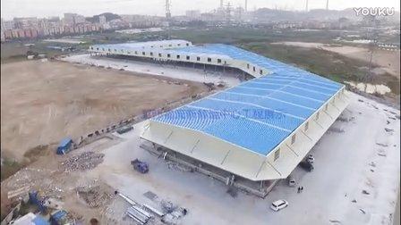 龙邦物流新转运中心工程展示