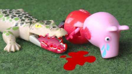 粉红猪小妹遇险  小猪佩奇出血