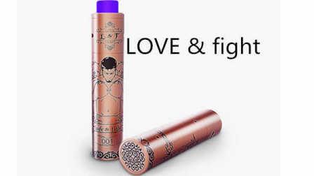 电子烟 Blitz L&F 机械杆子套装评测 LOVE&fight 全球500套红铜限量版 机械杆测评 蒸汽烟