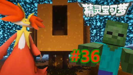 【XY小源 我的世界】1.10.2神奇宝贝 第五季 第36期 神秘底下屋有僵尸