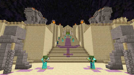 大海解说 我的世界minecraft 地狱边境打开时空之门