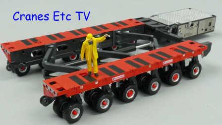 IMC Scheuerle SPMT Split and Scissors by Cranes Etc TV