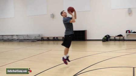 篮球课 后撤步投篮的四种方式 篮球教学视频