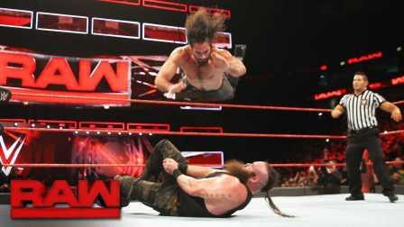 【RAW 01/09】黑山羊快要变成砸场王了 今天砸赛斯