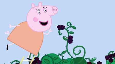 小猪佩奇用培乐多电饼铛,做汉堡薯条的玩具故事 (3)