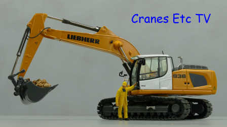 NZG Liebherr R 936 IV Excavator by Cranes Etc TV