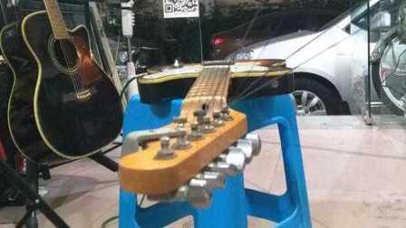 电吉他tele diy款 拾音器DiMarzio dp189 轻音 失真音色试听 zoom g1xon 厦门根歌电吉他 即兴jam