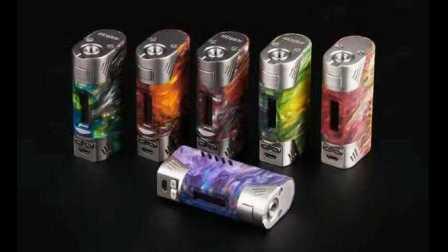 电子烟 欧比特 Orbit 80W 评测 树脂 温控调压盒子测评 蒸汽烟