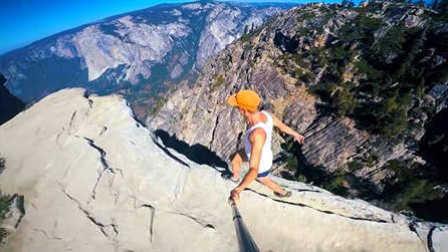 酷玩运动 第一季:作死小青年悬崖边狂奔 滑雪大神沙丘狂飙俯冲