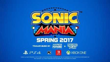 【游戏资讯】刺猬索尼克 Sonic Mania 宣传视频【任天堂新主机 Nintendo Switch 首发游戏】