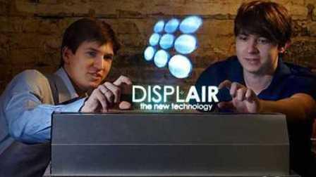 黑科技空气显示屏,还可触控,像在科幻电影