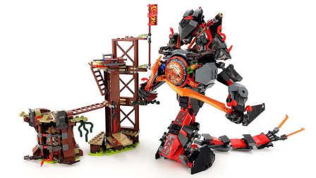 【月光砖厂】乐高LEGO2017幻影忍者系列70626决战时光机甲巨蛇乐高积木速组评测