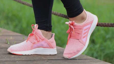 萌妹子的粉色系跑鞋5