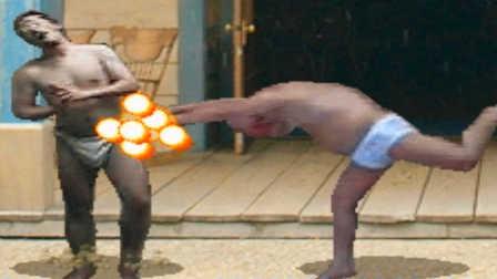【XY小源&Z小驴】只穿内裤的游戏 史上最鬼畜的格斗
