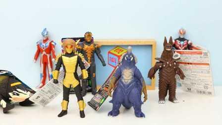 奥特曼 欧布奥特曼 玩具 大怪兽人仔 巴巴尔星人与宇宙怪兽基路伯