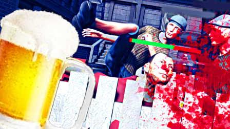 【屌德斯解说】 醉汉格斗模拟器 我可能喝了假的酒,看见五胞胎集体碰瓷