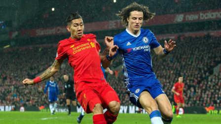 路易斯破门科斯塔丢点 切尔西1-1平利物浦9分领跑