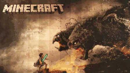 大海解说 我的世界minecraft 森林守夜人打恐怖巨怪