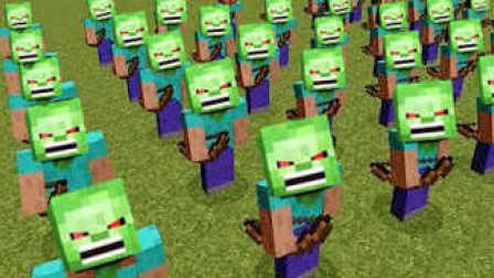 大海解说 我的世界minecraft 僵尸世界大战小镇逃生