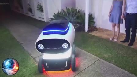全球首款送外卖机器人问世/iPhone破坏神Liam机器人