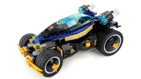 【月光砖厂】乐高LEGO70625幻影忍者十二连发冲锋车乐高积木速组评测