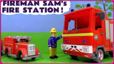 超帅气消防员救火玩具试玩 56
