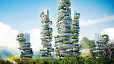 有未来科技感的垂直农场_新城商业_第87期