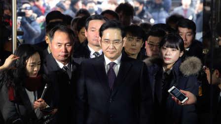 """三星""""太子""""李在镕被捕,430亿韩元贿赂总统后或将沦为阶下囚"""